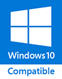Compatible avec Windows 10